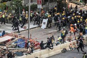 Hong Kong protests image